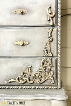 This faux concrete finish is a paint technique for furniture that I've really been enjoying lately. Click over to the blog to see the full makeover on this large standing jewelry armoire. Tracey Bellion #traceysfancy Tracey's Fancy WoodUBend Mouldings Wood Trim Molding Wood Trime Styles Wood Trime Ideas Furniture Molds Furniture Applique Molds Decorative Wood Trim For Cabinets Decor Moulds Faux Painting Concrete DIY Concrete Gray Color Scheme Gray Chalk Mineral Paint Dixie Belle Chalk Paint Diy Furniture Appliques, Wood Appliques, Armoire Makeover, Furniture Makeover, Diy Painting, Painting Concrete, Diy Concrete, Faux Painting, Cement Jewelry