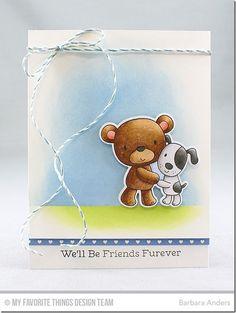 Friends Furever Stamp Set and Die-namics - Barbara Anders  #mftstamps