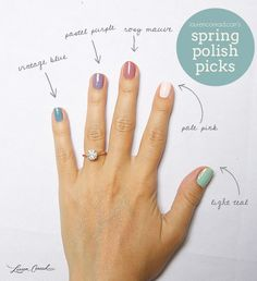spring polish picks