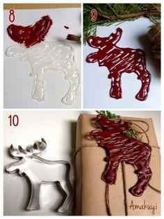 1000 images about silicona caliente on pinterest - Como hacer adornos navidenos ...