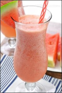 Guilt-Free Cocktail Recipes, Frozen Watermelon Margaritas, Green Grape Mojitos | Hungry Girl #weightlosstips