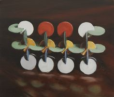 Michaël Borremans Strategy 2008 36 x 42 cm oil on canvas