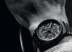 """One of the earliest Porsche Design Black Chronographs. A jewel of the Brand and an expression of """"Excellence through technical prowess""""."""