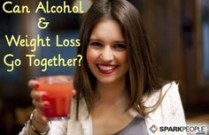 Do alcohol and weight loss mix? Here's what you need to know about drinking and your diet goals. | via @SparkPeople #beer #wine #cocktail #nutrition