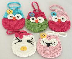 Bolso crochet infantil