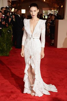 Rooney Mara in Givenchy Couture, 2013 Met Gala