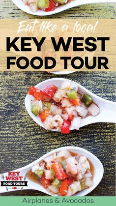 Key West Southernmost Food Tour – Eat Like a Local - Airplanes & Avocados Florida Food, Florida Vacation, Florida Travel, Travel Usa, Key West Florida, Florida Keys, South Florida, South Carolina, Key West Vacations