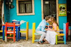 Unique spots for your #wedding photo-shoot: the colorful village of Sayulita has several perfect places to have a unique picture with a mexican flavor. Four Seasons Resort Punta Mita