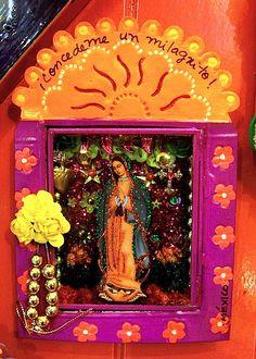 Virgen de Guadalupe #shrine #nicho