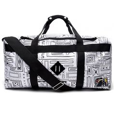 Loving this pattern from the Hundreds The Hundreds, Gym Bag, Geo, Bags, Accessories, Shopping, Pattern, Clothes, Shoes