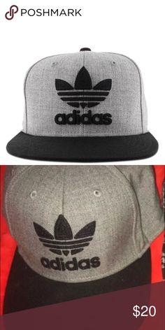 new concept 55254 d105b addidas flat brim hat mens hat brand new adidas Accessories Hats