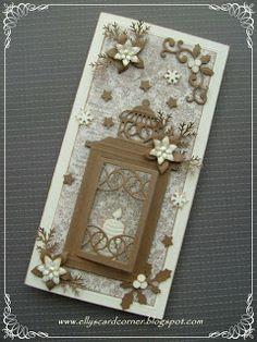 Elly's Card Corner: Christmas card 2