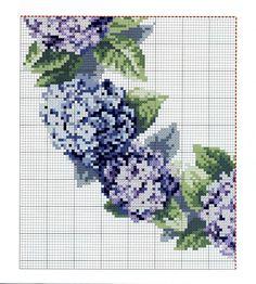 Schemi a punto croce gratuiti per tutti: Raccolta di ghirlande fiorite a punto croce