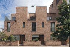 Brick Architecture, Futuristic Architecture, Residential Architecture, Masterplan Architecture, Architecture Office, Ancient Architecture, Suffolk House, Mews House, Arch House