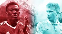 Anthony Martial v Kevin De Bruyne: Who has made the bigger impact? - http://footballersfanpage.co.uk/anthony-martial-v-kevin-de-bruyne-who-has-made-the-bigger-impact/