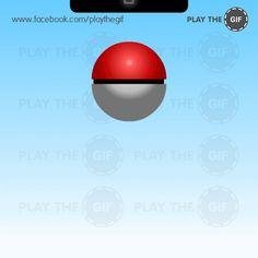 ¿Puedes parar el GIF cuando la bola está atrapada?