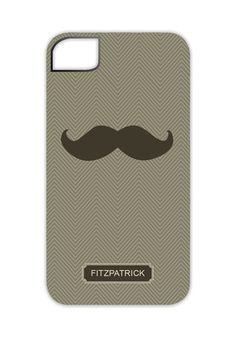 Mustache iPhone 4/4S Case