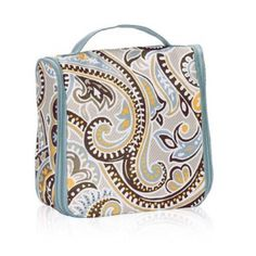 Hanging Traveler Case Hanging Traveler Case in Parisian Garden Thirty One Bags Cosmetic Bags & Cases