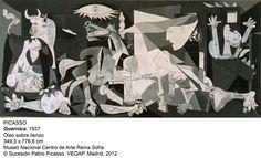TOUCH esta imagen: Los elementos y símbolos del 'Guernica' by palomagquiros