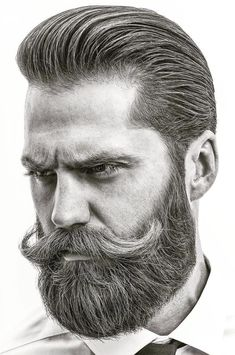 These best beard styles feature classic looks and brand new ones. Try a beard fade or hair design for something different. Grooming is the key to a great looking beard, whether it's short or long. Hipster Haircuts For Men, Hipster Hairstyles, Great Beards, Awesome Beards, Beard Styles For Men, Hair And Beard Styles, Barba Grande, New Beard Style, Bearded Men