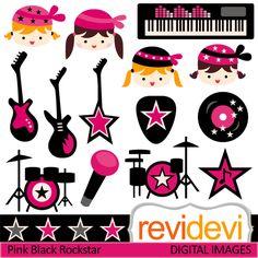 rock star girl vector - Buscar con Google