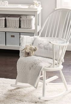 Rocking Chair, I Wonder If I Could Get Away With Painting Ours White And  Using