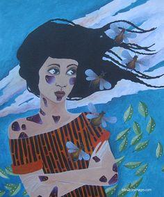 Marina Le Floch - peinture La tempête