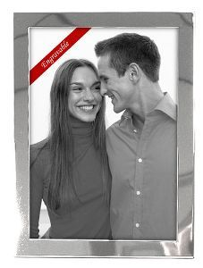 5 X 7 PICTURE FRAME, BRIGHT SILVER    • Made of quality silver material  • Holds one 5x7 photo  • Coordinating sizes available  • Classic sleek silver border frames photo  • Essential Silver Collection  Reg Price $13.69  Special Price $8.40