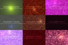 21 Abstract Crystal Backgrounds by designerthings on Creative Market