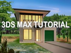 3ds max tutorial 2016 - Modelling house