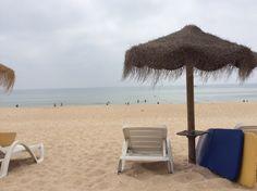Fuseta beach, Algarve, Portugal