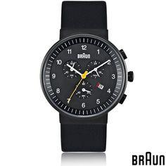 BRAUN Uhr - Chronograph mit analoger