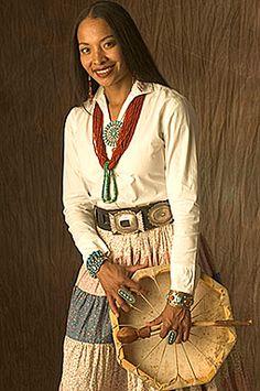 Navajo singer Radmilla Cody, former Miss Navajo