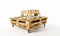 Wooden Pallet Loungers