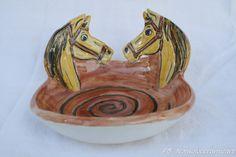 ciotola cavalli | handmade ceramic | horses bowl