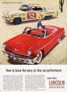 1954 Lincoln Capri Special Custom Convertible