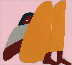 It's Nice That | Charlotte Mei's paintings of abstracted, contorted and lazy…