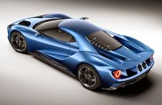 New Ford GT Supercar Announced In Detroit
