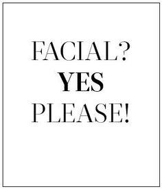 Contact me for a free mini facial!