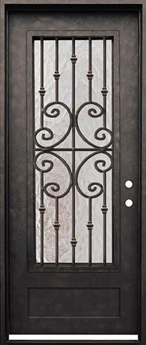 Forte Iron Door Beautiful Wrought Iron Door With Grille For Only