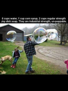 15 Awesome Kids' Crafts for Summer. These are Giant Bubbles that are un-poppable. Fun Crafts For Kids, Projects For Kids, Guy Crafts, Summer Crafts, Teen Crafts, Daycare Crafts, Classroom Crafts, Family Crafts, Science Classroom