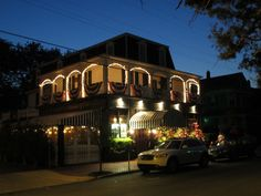 Merion Inn on Decatur St Cape May NJ USA  <3 the piano playing during dinner