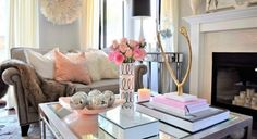 The Secret to Coffee Table Decorating