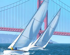 """Check out new work on my @Behance portfolio: """"Sailing in San Francisco"""" http://be.net/gallery/44552431/Sailing-in-San-Francisco"""