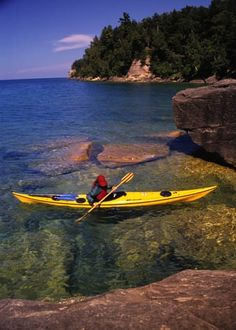 Trout Bay on Grand Island on Lake Superior. Vacation Destination 2012