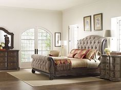 Casa Veneto Queen Bedroom Group by Thomasville® at Darvin Furniture
