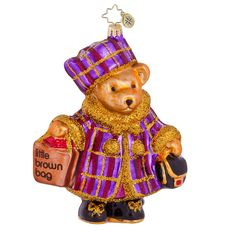 christopher radko ornaments | Christopher Radko Muffy Ornament | Bloomingdales