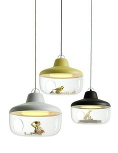 Polypropylene pendant #lamp FAVOURITE THINGS by ENO STUDIO | #design Chen Karlsson by karen.x