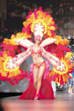 """""""Carnival in Rio"""" Ana Osterwald (DEBUT LAFW 2011)"""