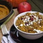 Autumn Pumpkin Quinoa Salad